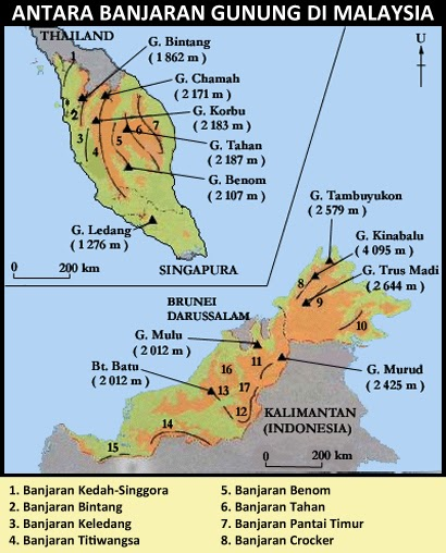 Mendaki Gunung Kinabalu - Puncak Tertinggi Malaysia | www