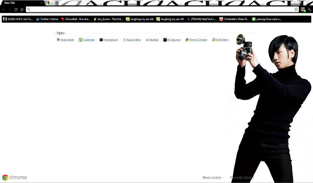 16 Google Chrome Themes Super Junior