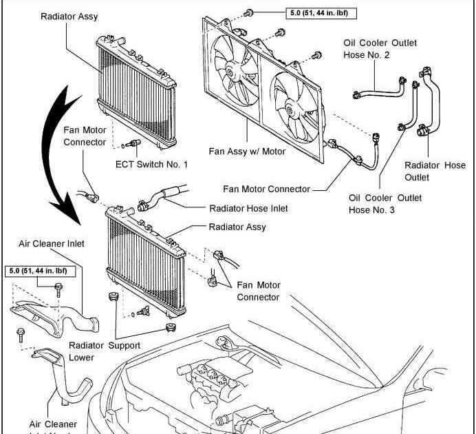 55 Luxury 2000 toyota Camry Cooling Fan Wiring Diagram