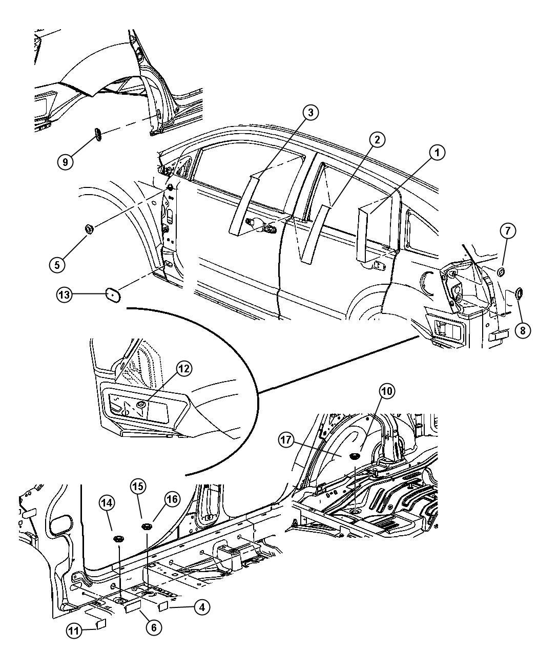 Wiring Diagram: 31 2007 Dodge Caliber Parts Diagram