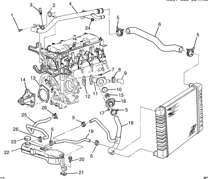 [DIAGRAM] Buick 3100 V6 Engine Diagram FULL Version HD