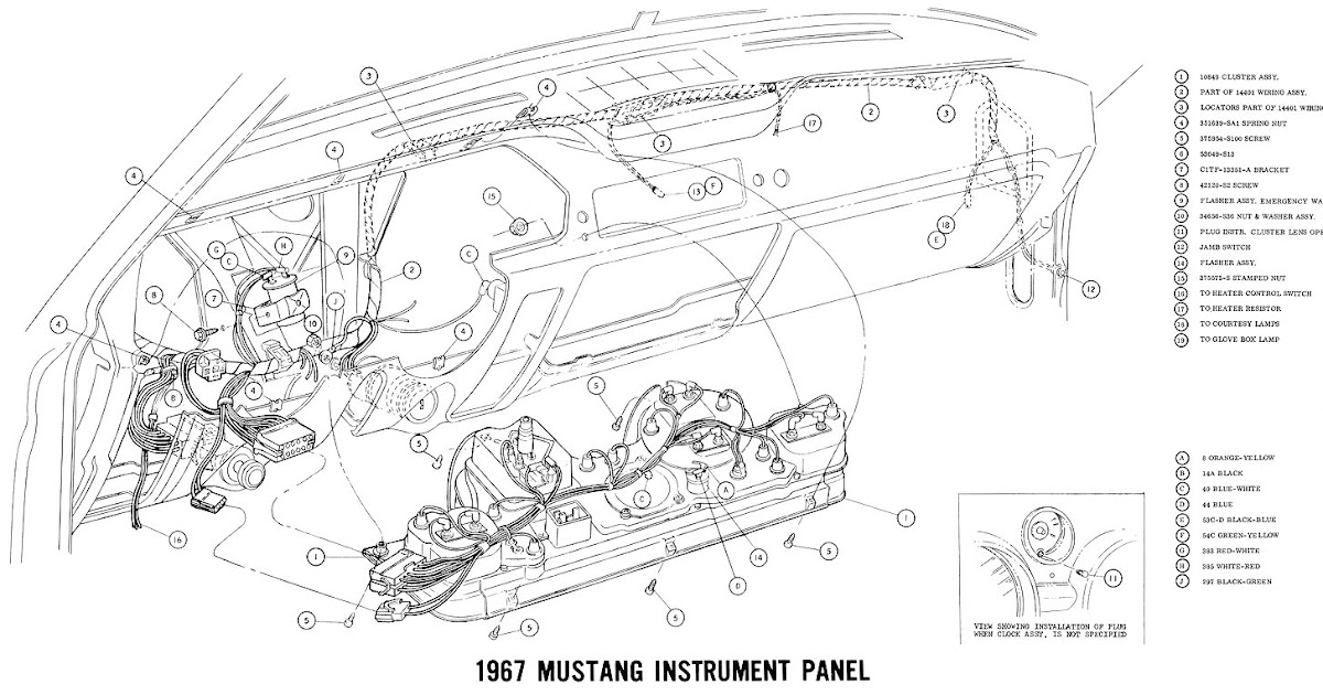 1967 Mustang Wiring Diagram