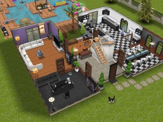 House Designs For The Sims Freeplay Modern Design