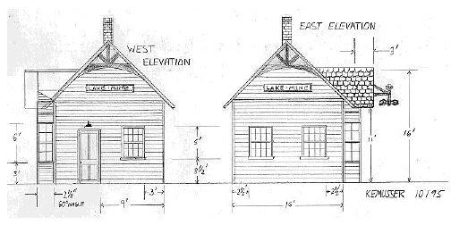 Layout rail: Useful Model train buildings made