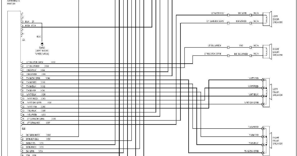 2012 Jeep Wrangler Radio Wiring Diagram : 2012 Jeep