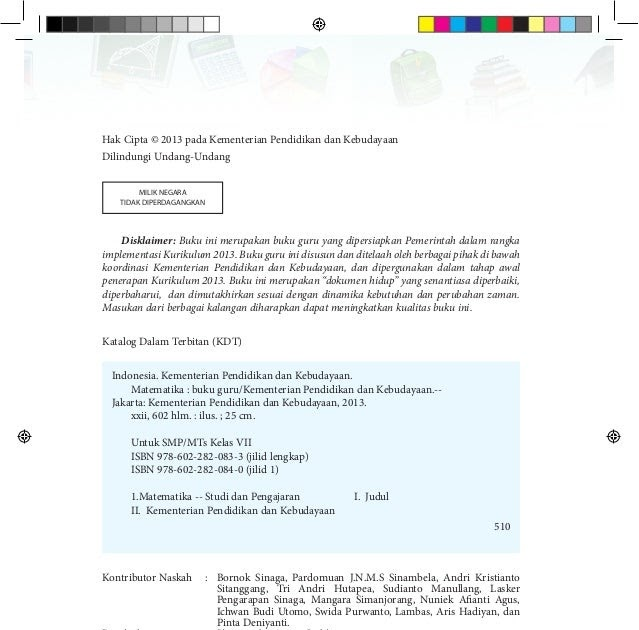 Buku latihan soal atau lks matematika kelas 5 sd semester 2 dilengkapi ringkasan materi. Viral Kunci Jawaban Buku Lks Matematika Kelas 7 Semester 1