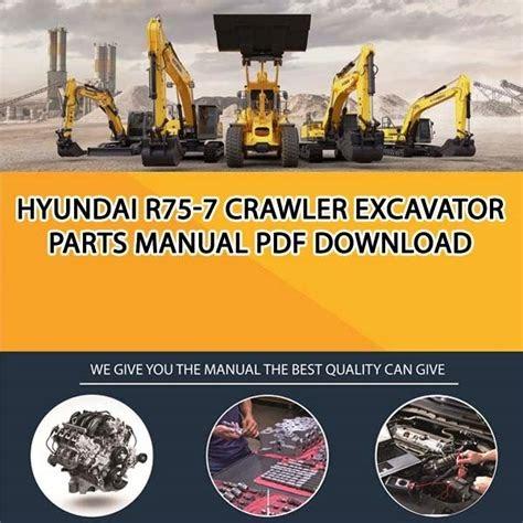 Free Download hyundai r75 7 crawler mini excavator