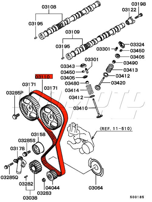 Mitsubishi Lancer Evolution Engine Diagram