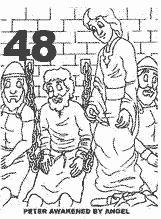 Loudlyeccentric: 30 Peter In Prison Coloring Pages