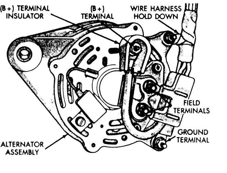 31 1997 Dodge Ram 1500 Alternator Wiring Diagram