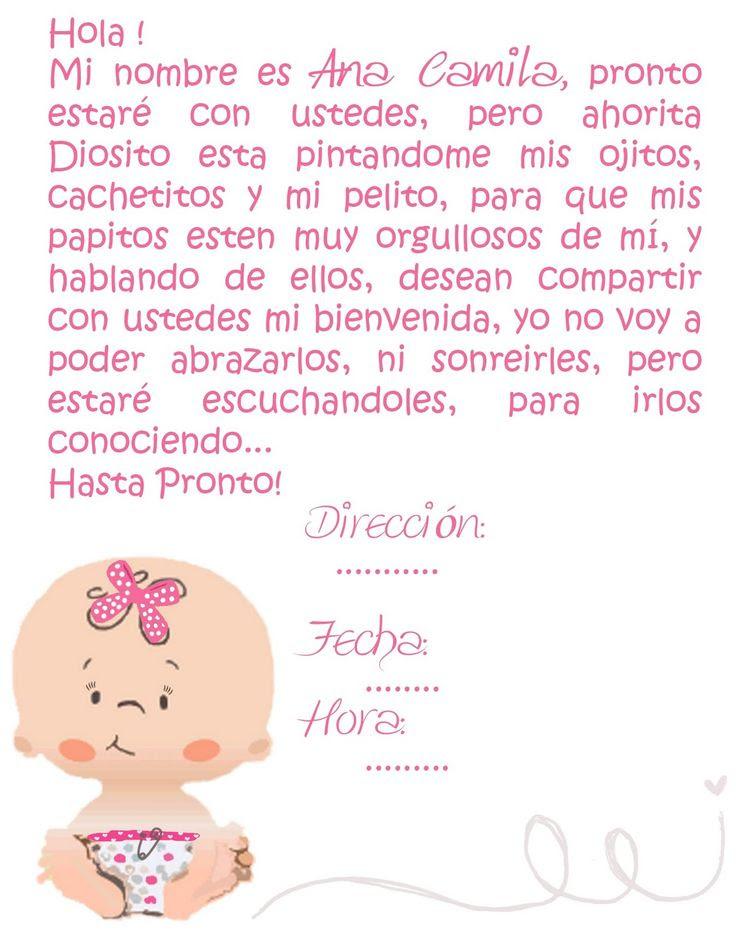 Palabras De Agradecimiento Por Baby Shower : palabras, agradecimiento, shower, Carta, Agradecimiento, Shower, Sample
