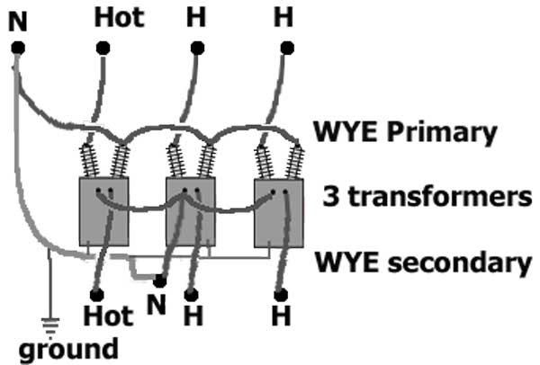 Transformer Wiring Diagram : Diagram 480v 3 Phase