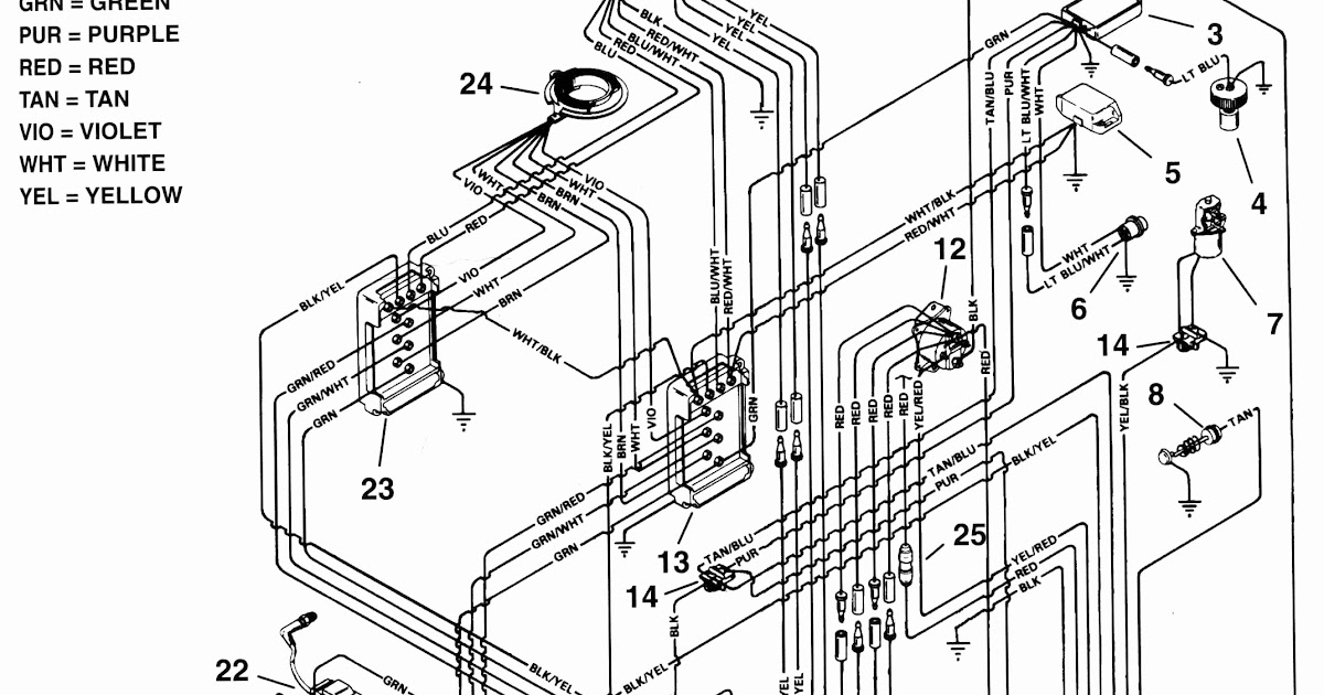 2 5l Mercruiser Wiring Diagram