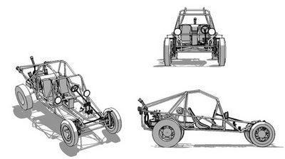 sketch-up: dunebuggy