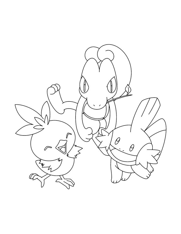 Rapia kuning09: Kleurplaat Van Electric Pokemon