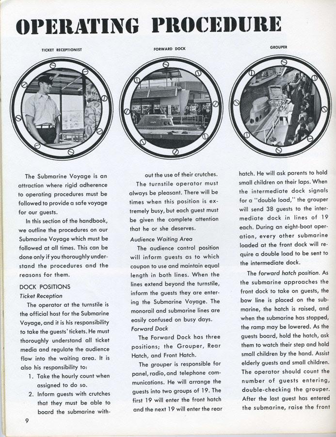 stuff from the park: SOP Saturday- Submarine Voyage