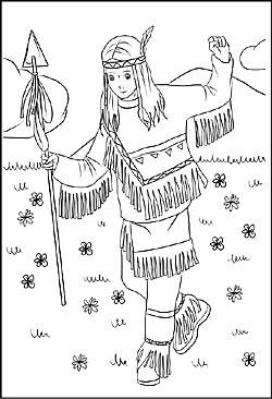 Indianer Muster Zum Ausmalen