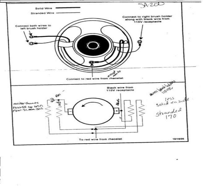 Lincoln Sa 200 Parts Diagram