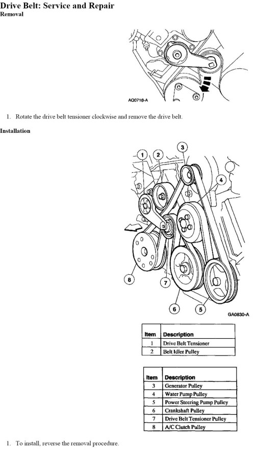 small resolution of need diagram for serpentine belt on 2000 ford expedition 46l wiring diagrams