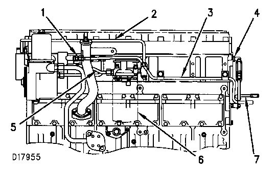 Cat 3116 Engine Diagram