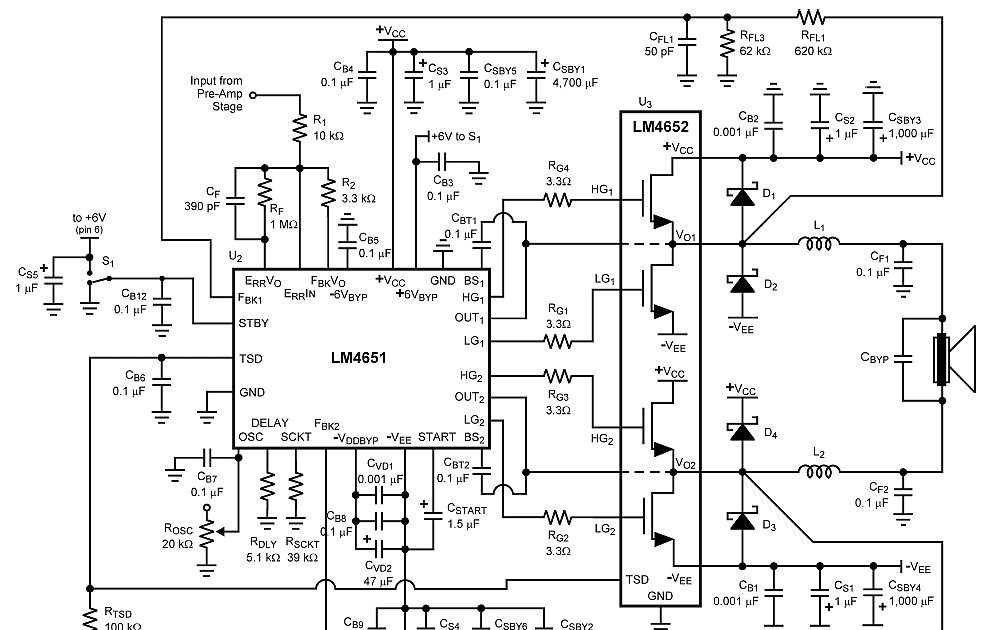 20+ Class H Amplifier Circuit Diagram