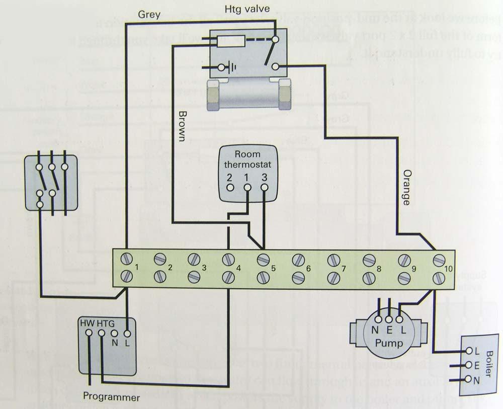 medium resolution of 4 wire zone valve diagram