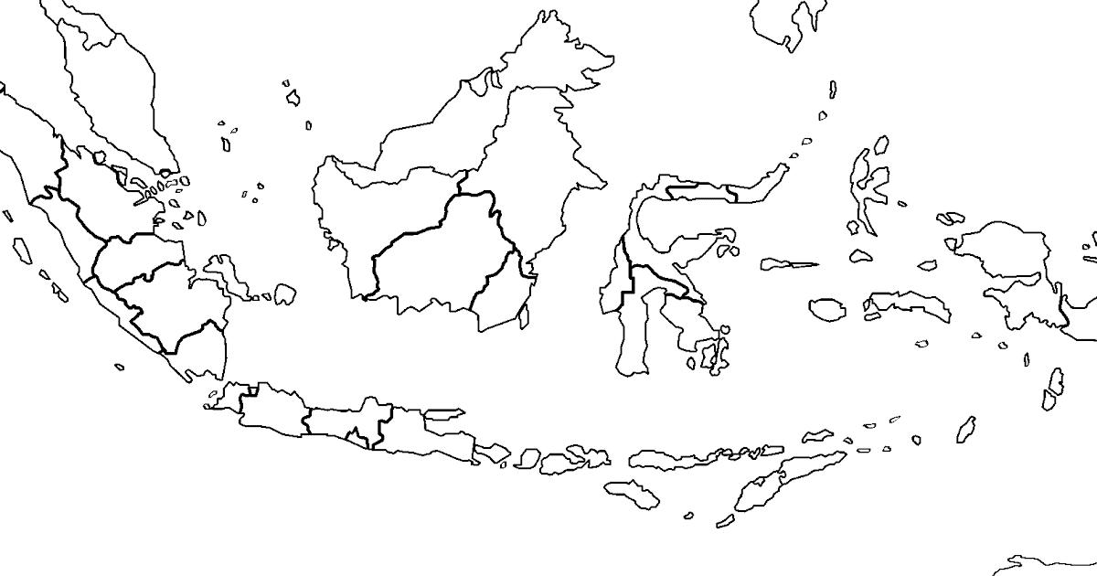 Logo mui vector cdr png warna hitam putih free download file kualitas vektor terbaik logo. Peta Indonesia Hitam Putih Vector Kami