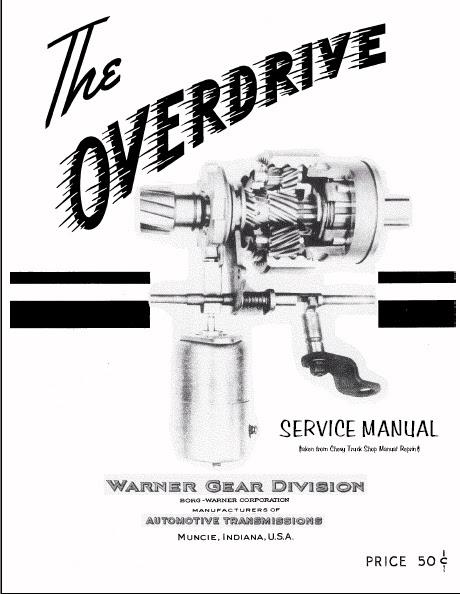 Wiring Diagram: 26 Borg Warner Overdrive Wiring Diagram