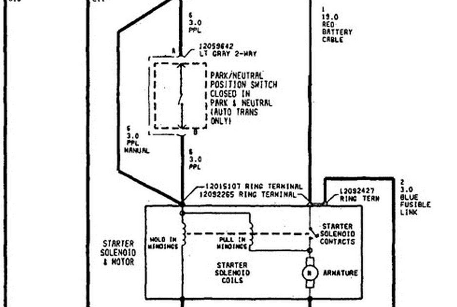 schematics and diagrams: Saturn SL2 Starter Wiring Diagram?