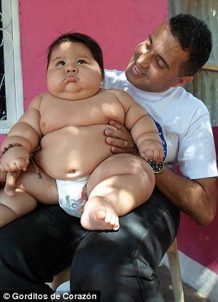 Fattest Baby Ever : fattest, Oyedele, Afolabi's, Blog:, Incredible!, Colombia's, FATTEST, Weighs, 6-year-old, Photos)