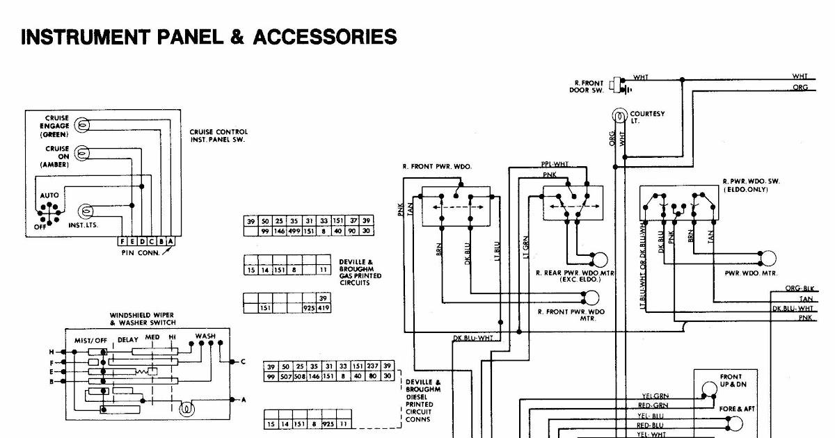 2000 Cadillac Deville Wiring Diagram