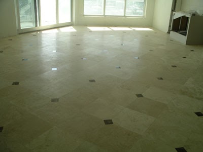It's likely you and your guests will spend countless hours in this room, discussing and entertaining. Living Room Gray Tile Floor Design Ideaspicturesremodel ...