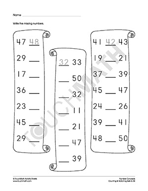 NEW 265 COUNTING SETS OF OBJECTS TO 100 WORKSHEETS