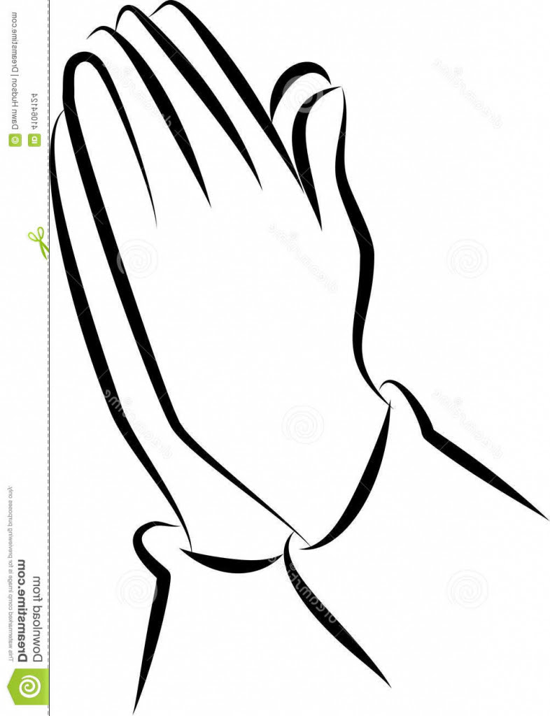 How To Draw Prayer Hands Step By Step : prayer, hands, Praying, Hands, Rosary, Drawing, Ideas