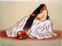 R.C. Gorman Vanessa Chee Ceramic Art Tile Southwest Gift ...