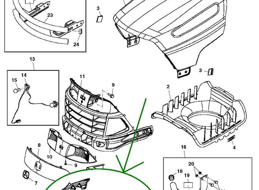 Wiring Diagram: 31 John Deere La105 Parts Diagram