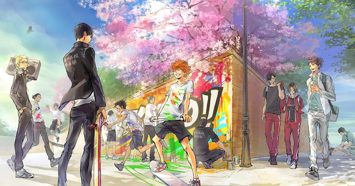 aesthetic anime haikyuu wallpaper desktop