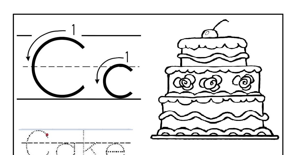 Resume Format: Letter C Printables Preschool