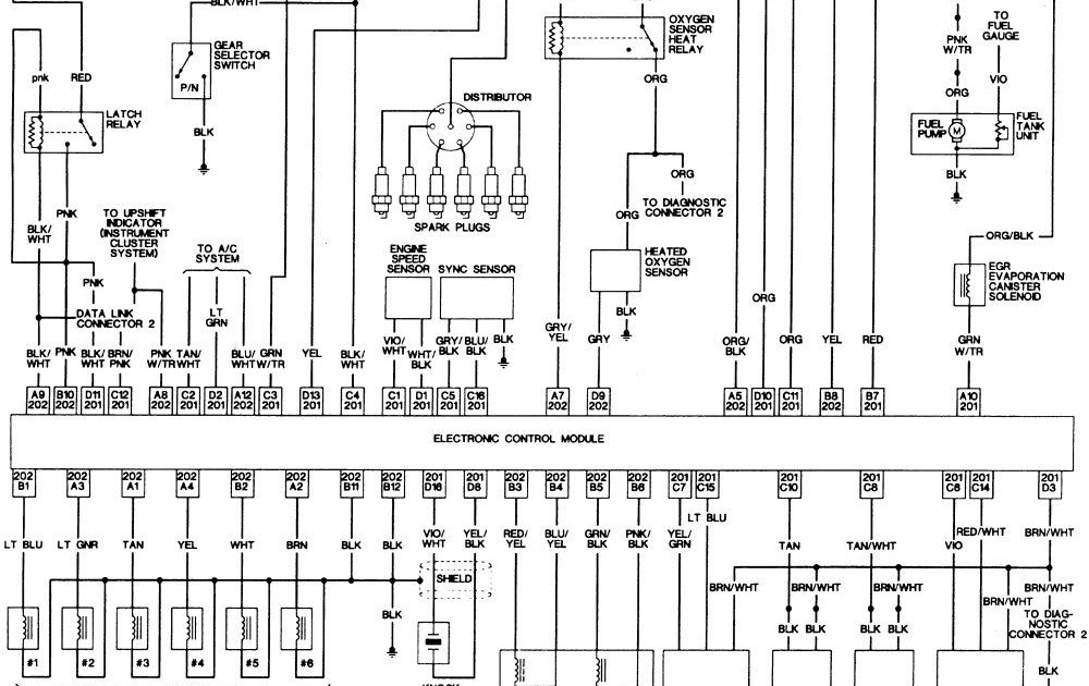 97 Jeep Cherokee Wiring Diagram