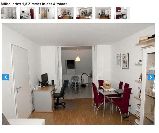 wohnungsbetrugblogspotcom Mbeliertes 1 5 Zimmer in