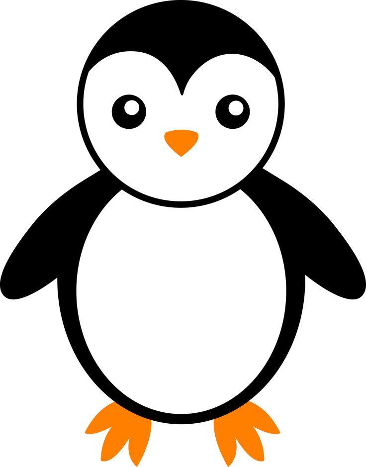 Penguin Drawing Easy Cute : penguin, drawing, Penguin, Drawing, Tutorial
