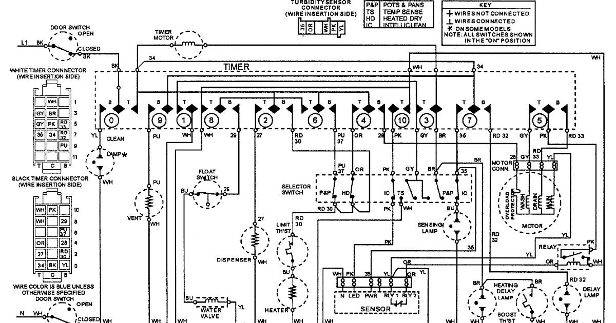 Washing Machine Wiring Circuit Diagram