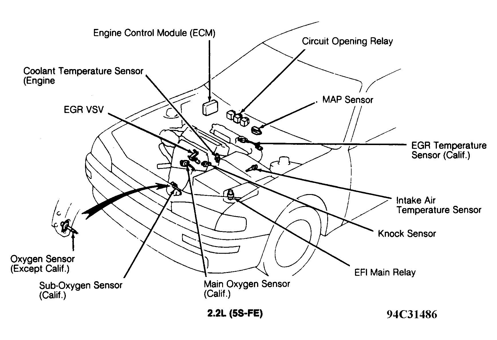 2001 Pontiac Grand Am Engine Diagram
