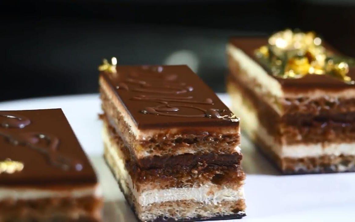 Bruno Albouze Opera Cake Recipe