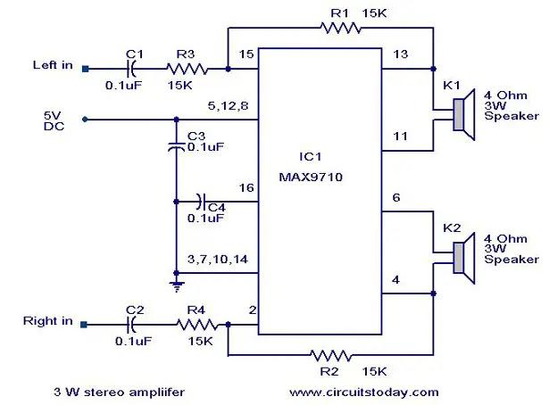 High Quality Sound Amplifire Circuit