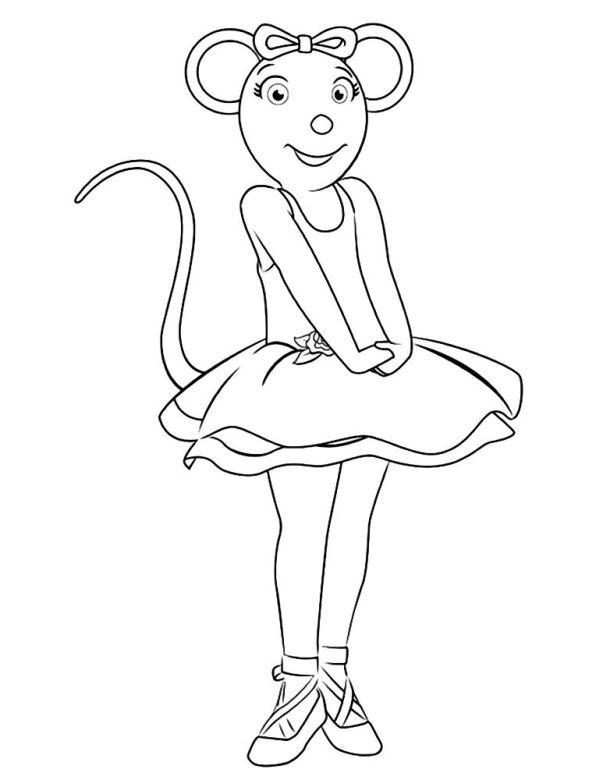 Malvorlage Ballerina Zum Ausmalen - Malvorlagen