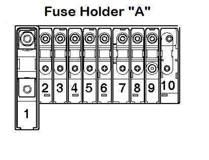 Seat Ibiza Battery Fuse Box