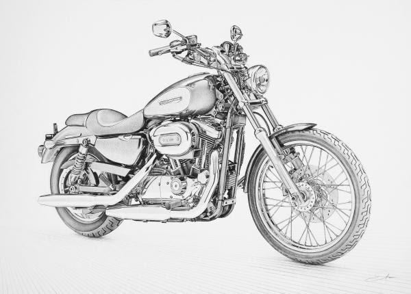 My new blog: Harley Davidson Sportster Custom
