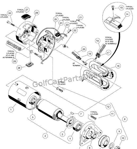 Gas Yamaha Golf Cart Starter Generator Wiring Diagram