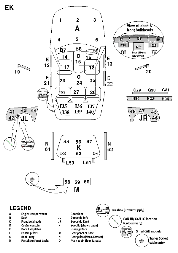 Mercede E200 Wiring Diagram